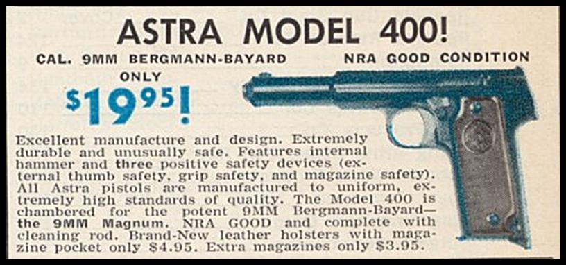 Publicidad Astra 400