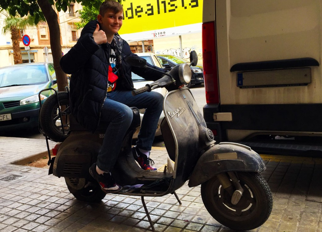 Vespa Super 125 Germán